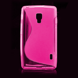 Gelové S-line pouzdro pro LG Optimus L7 II P710- růžové - 2