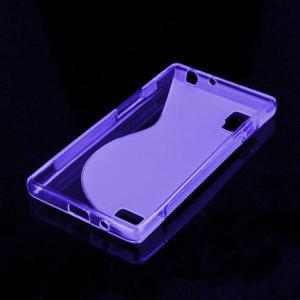 Gelové S-line pouzdro pro LG Optimus L9 P760- fialové - 2
