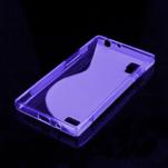 Gelové S-line pouzdro pro LG Optimus L9 P760- fialové - 2/2