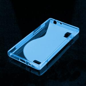 Gelové S-line pouzdro pro LG Optimus L9 P760- modré - 2