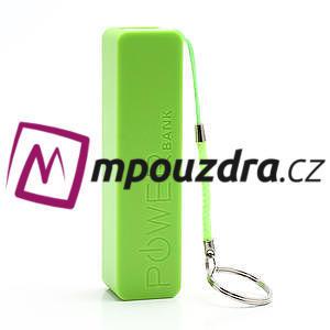 2600mAh externí baterie Power Bank - zelená - 2
