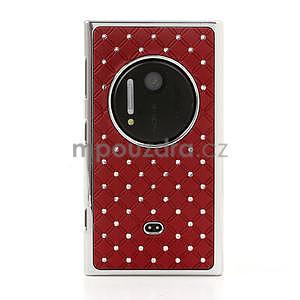 Drahokamové pouzdro pro Nokia Lumia 1020- červené - 2
