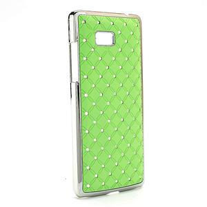 Drahokamové pouzdro pro HTC Desire 600- zelené - 2