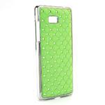 Drahokamové pouzdro pro HTC Desire 600- zelené - 2/5