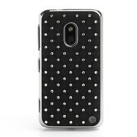 Drahokamové pouzdro na Nokia Lumia 620- černé - 2/6