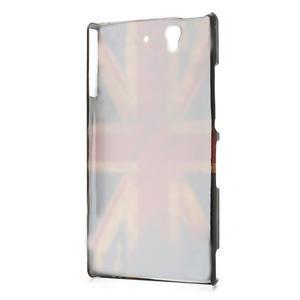 Plastové pouzdro na Sony Xperia Z L36i C6603- UK vlajka - 2