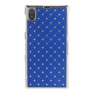 Drahokamové pouzdro na Sony Xperia Z1 C6903 L39- modré - 2