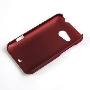 Pogumované pouzdro pro HTC Desire 200- červené - 2