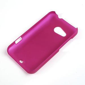 Pogumované pouzdro pro HTC Desire 200- růžové - 2
