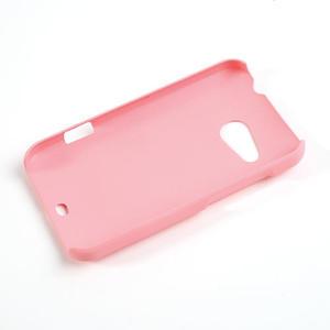 Pogumované pouzdro pro HTC Desire 200- světlerůžové - 2