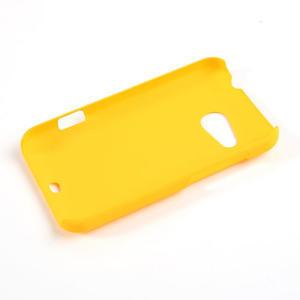 Pogumované pouzdro pro HTC Desire 200- žluté - 2