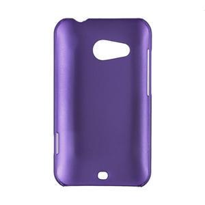Pogumované pouzdro pro HTC Desire 200-fialové - 2