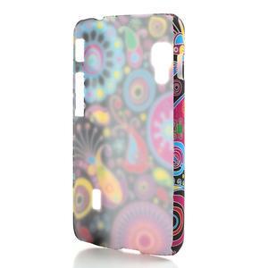 Plastové pouzdro pro LG Optimus L5 Dual E455- barevné vzory - 2