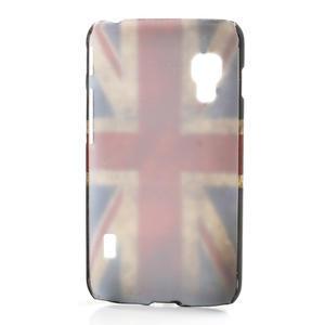 Plastové pouzdro pro LG Optimus L5 Dual E455-UK vlajka - 2