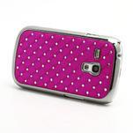 Drahokamové pouzdro pro Samsung Galaxy S3 mini i8190- růžové - 2/4