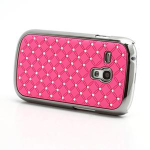 Drahokamové pouzdro pro Samsung Galaxy S3 mini i8190- světle-růžové - 2