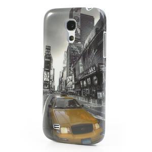 Plastové pouzdro na Samsung Galaxy S4 mini i9190- auto-street - 2