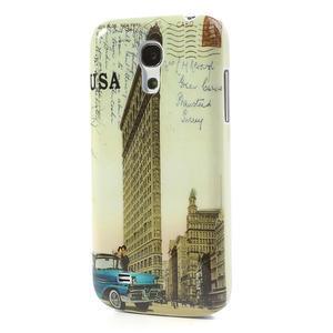 Plastové pouzdro na Samsung Galaxy S4 mini i9190- USA budova - 2