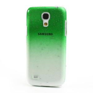 Plastové minerální pouzdro pro Samsung Galaxy S4 mini i9190- zelené - 2