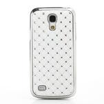 Drahokamové pouzdro pro Samsung Galaxy S4 mini i9190- bílé - 2/6