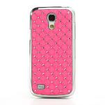 Drahokamové pouzdro pro Samsung Galaxy S4 mini i9190- světlerůžové - 2/5
