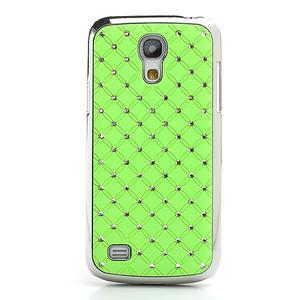 Drahokamové pouzdro pro Samsung Galaxy S4 mini i9190- zelené - 2