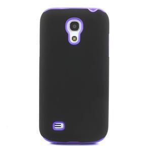 Hybridní pouzdro na Samsung Galaxy S4 mini i9190- fialové - 2