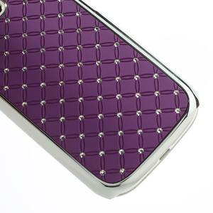 Drahokamové pouzdro pro Samsung Galaxy S3 i9300 - fialové - 2