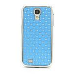 Drahokamové pouzdro pro Samsung Galaxy S4 i9500- světle-modré - 2/7