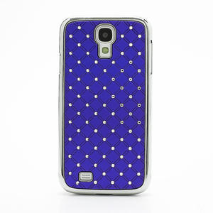 Drahokamové pouzdro pro Samsung Galaxy S4 i9500- modré - 2