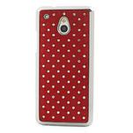 Drahokamové pouzdro pro HTC one Mini M4- červené - 2/5