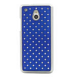 Drahokamové pouzdro pro HTC one Mini M4- modré - 2/5