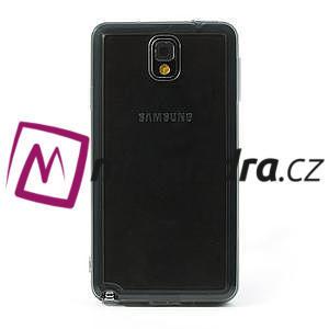 Gelové hybrid pouzdro na Samsung Galaxy Note 3- šedé - 2