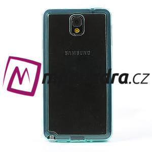 Gelové hybrid pouzdro na Samsung Galaxy Note 3- světlemodré - 2