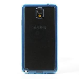 Gelové hybrid pouzdro na Samsung Galaxy Note 3- modré - 2