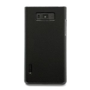 Texturované pouzdro pro LG Optimus L7 P700- černé - 2