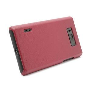 Texturované pouzdro pro LG Optimus L7 P700- červené - 2