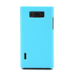 Texturované pouzdro pro LG Optimus L7 P700- modré - 2