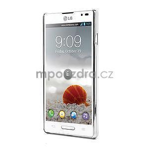 Drahokamové pouzdro pro LG Optimus L9 P760- světlemodré - 2