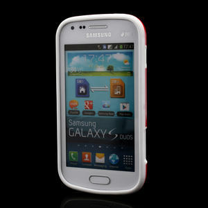 Plastogelové pouzdro na Samsung Galaxy Trend, Duos- červené - 2