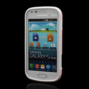 Plastogelové pouzdro na Samsung Galaxy Trend, Duos- růžové - 2