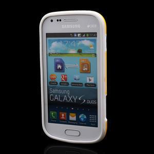 Plastogelové pouzdro na Samsung Galaxy Trend, Duos- žluté - 2