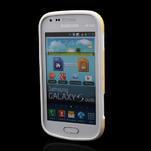 Plastogelové pouzdro na Samsung Galaxy Trend, Duos- žluté - 2/3