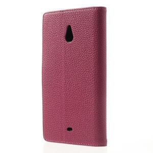 Peněženkové pouzdro pro Nokia Lumia 1320- růžové - 2