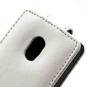 Flipové pouzdro na Nokia Lumia 620- bílé - 2