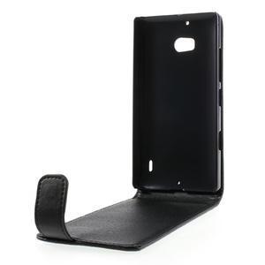 Flipové pouzdro na Nokia Lumia 929/930 - černé - 2
