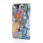 Peněženkové pouzdro na Sony Xperia Z C6603 - barevné vzory - 2/7