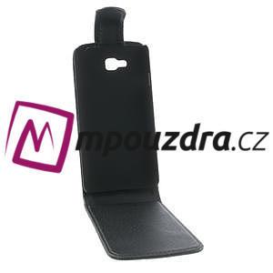 Flipové PU kožené pouzdro na LG Optimus L9 II D605 - černé - 2