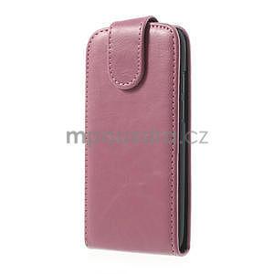 Flipové pouzdro pro HTC Desire 601- růžové - 2