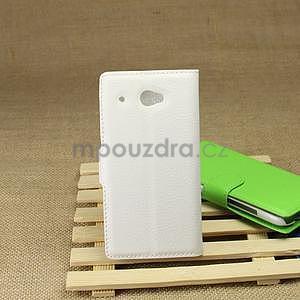 Peněženkové pouzdro pro HTC Desire 601- bílé - 2